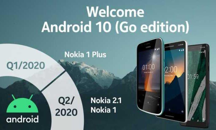 Android 10 (Go Edition) Güncellemesi Alacak Nokia Telefonlar