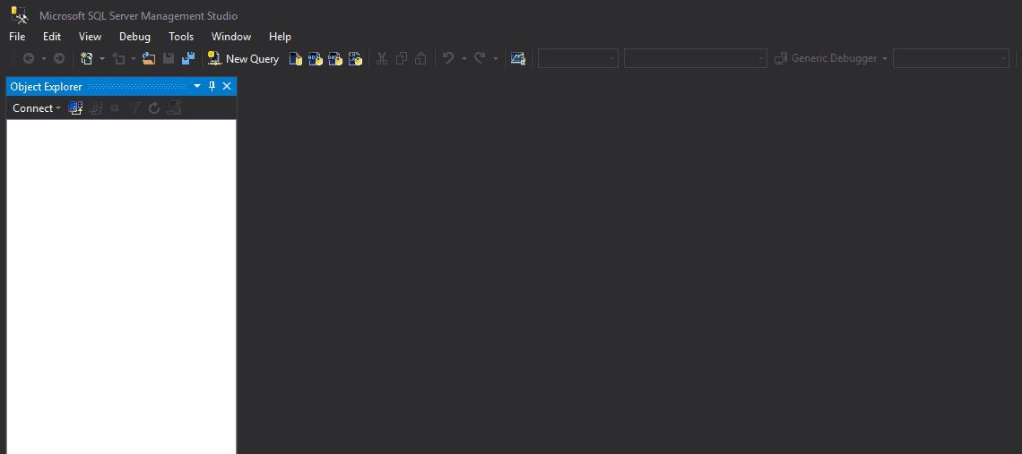 SQL Management Studio 2016 da Siyah Temayı (Dark Theme) Aktif Hale Getirmek