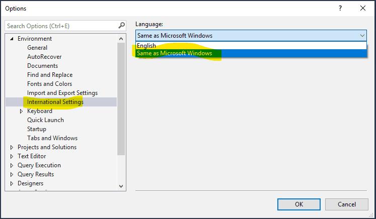 SQL Management Studio'da SQL Script Kaydederken Yaşanan Türkçe Karakter Sorunu