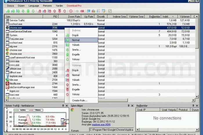 NetBalancer Free